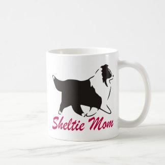 Maman de Sheltie de chien de berger de Shetland Mug