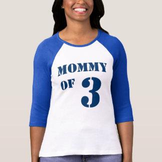 Maman de trois t-shirt