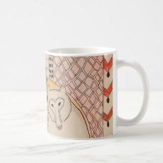 Maman de ZenobiaArt et café d'ours Mug