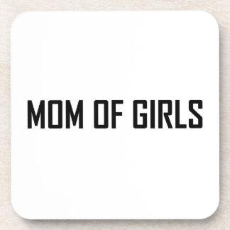 Maman des filles dessous-de-verre