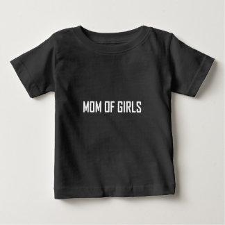 Maman des filles t-shirt pour bébé