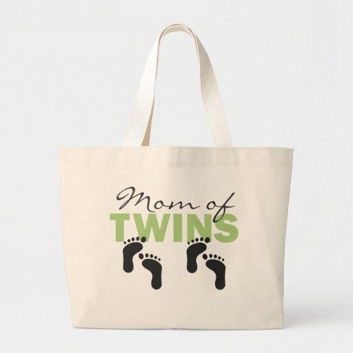 Maman des jumeaux sacs fourre-tout
