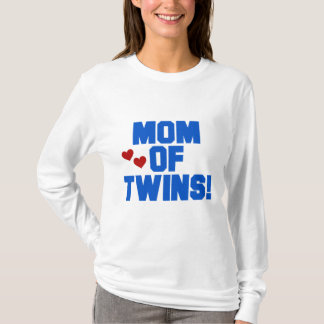 Maman des T-shirts et des cadeaux Jumeau-Bleus des
