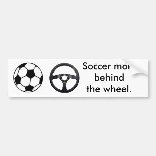 Maman du football autocollants pour voiture