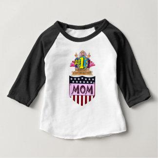 Maman du numéro un t-shirt pour bébé