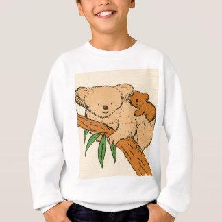 Maman et bébé d'ours de koala sweatshirt