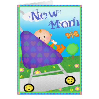 Maman faite sur commande du jour de mère nouvelle cartes