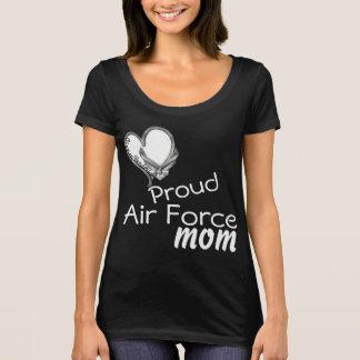Maman faite sur commande T de Henderson d'aviateur T-shirt
