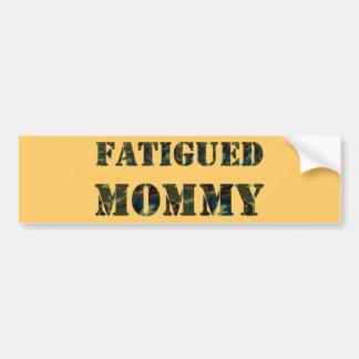 Maman fatiguée adhésif pour voiture