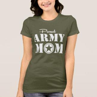 Maman fière d'armée t-shirt