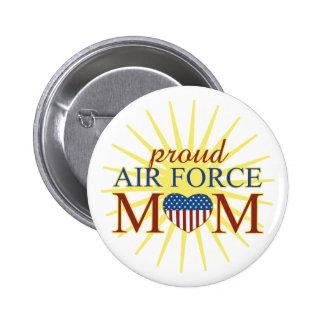 Maman fière de l'Armée de l'Air Badges