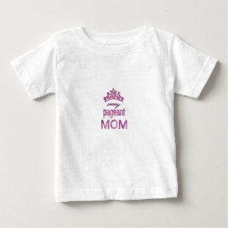 Maman folle de reconstitution historique t-shirt pour bébé