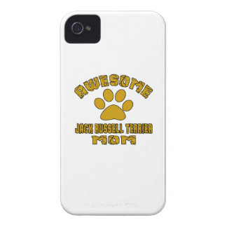 MAMAN IMPRESSIONNANTE DE JACK RUSSELL TERRIER COQUE iPhone 4