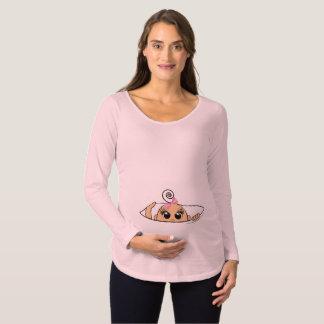 Maman, je veux ! T-shirt de maternité de bébé