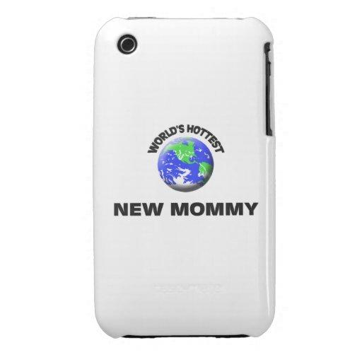 Maman la plus chaude du monde la nouvelle coques iPhone 3