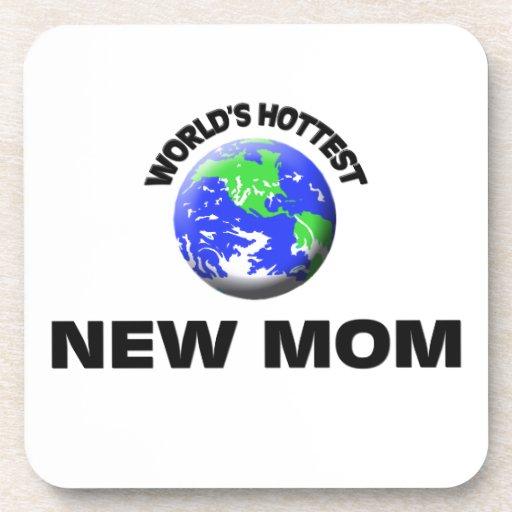 Maman la plus chaude du monde la nouvelle sous-bock