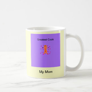 Maman le plus grand cuisinier mug blanc