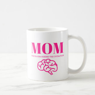 Maman - les cerveaux de la tasse d'opération