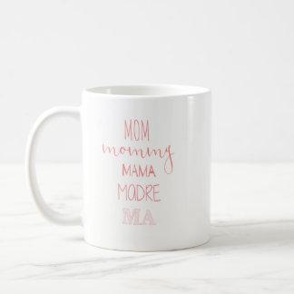 Maman Ma Mug de Madre de maman de maman