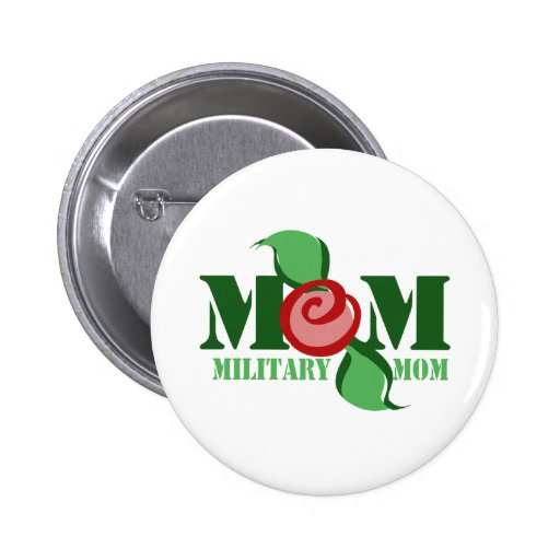 Maman militaire pin's avec agrafe
