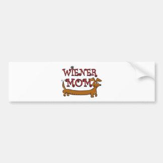 Maman Oktoberfest de saucisse Autocollant Pour Voiture