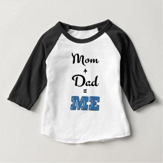 Maman + Papa = JE T-shirt Pour Bébé