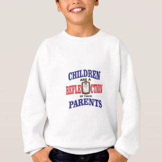 maman superbe bleue blanche rouge sweatshirt