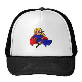 maman superbe blonde casquettes de camionneur