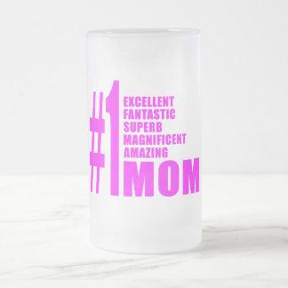 Mamans 1 modernes fraîches Maman du numéro un Mug À Café