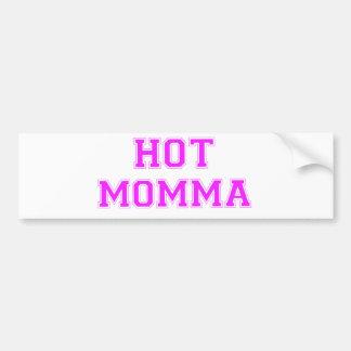 Mamans chaudes autocollant pour voiture