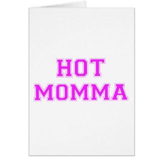 Mamans chaudes carte de vœux