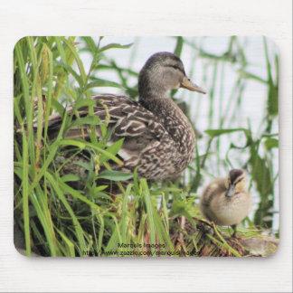 Mamans et bébé tapis de souris