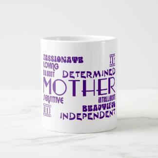 Mamans féminines modernes et mères chics et élégan mugs jumbo