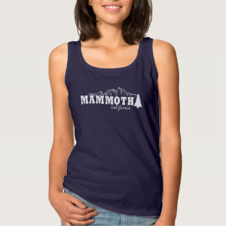 Mammouth, CA - débardeur américain de spaghetti