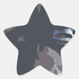 mamuthones sticker étoile