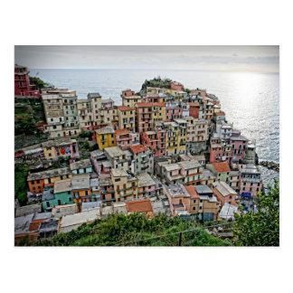Manarola - le Cinque Terre - carte postale de