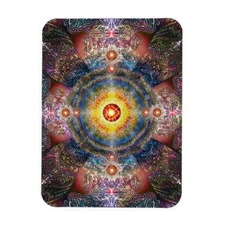 Mandala 2 du coeur H012 Magnets