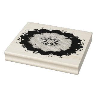 Mandala affligé gravé à l'eau-forte