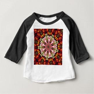 Mandala botanique de rêves t-shirt pour bébé