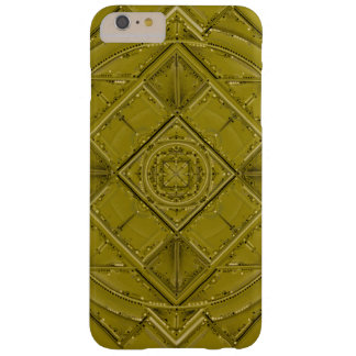 Mandala Chartreuse Coque Barely There iPhone 6 Plus