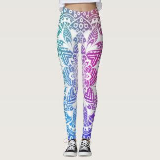 Mandala coloré leggings