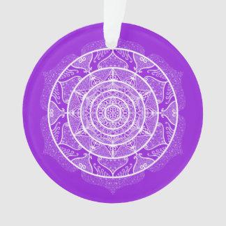 Mandala d'améthyste
