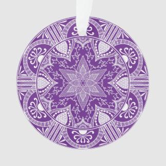 Mandala d'aubergine