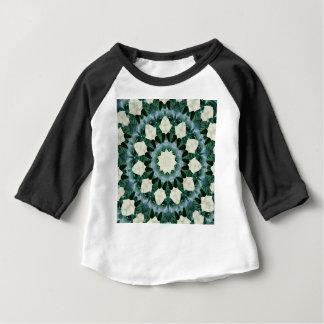 Mandala de bleu vert et Cerulean de Sacramento T-shirt Pour Bébé