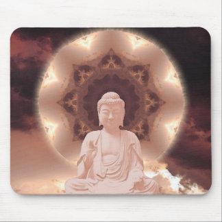 Mandala de Bouddha Tapis De Souris