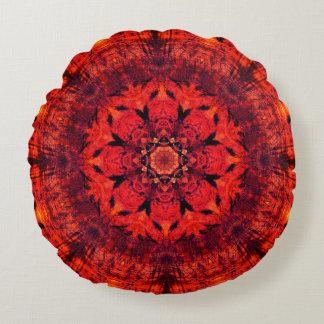 Mandala de Chakra de racine Coussins Ronds