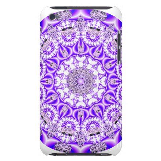 Mandala de dentelle de mosaïque, pourpre violet ab étui iPod touch