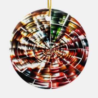 Mandala de haute énergie ornement rond en céramique