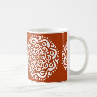 Mandala de henné mug