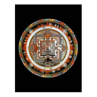 Mandala de Kalachakra Carte Postale